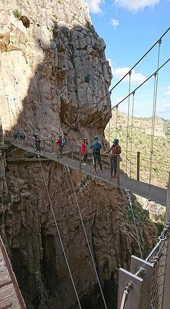 El Caminito del Rey: Il ponte sospeso ...