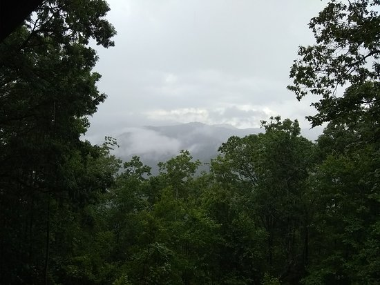 Cullowhee, NC: Walking in the clouds