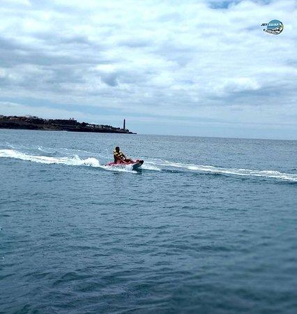 Pasito Blanco, Spain: Excursión en Kayak a Motor por la costa sur de Gran Canaria.