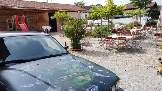 Rottenburg an der Laaber, Jerman: Biergarten