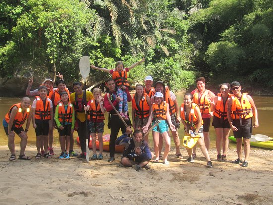 Semadang Kayak: Start point