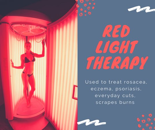 Red light therapy for your body    - Picture of Planet Beach Spray