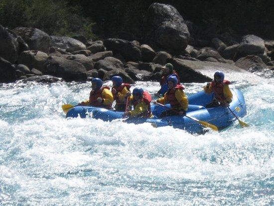 Puerto Guadal, Чили: Rafting en el río Baker