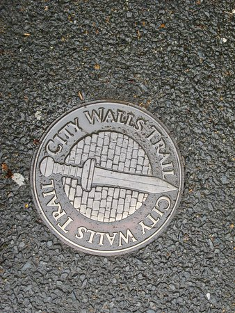 Chichester City Walls Signage