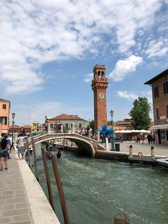 Torre dell'Orologio di Murano : plaza