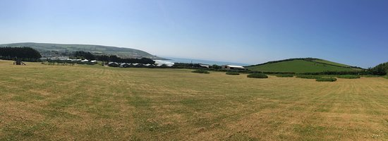 Parkdean Resorts - Ruda Holiday Park: View from the top field / glamping area