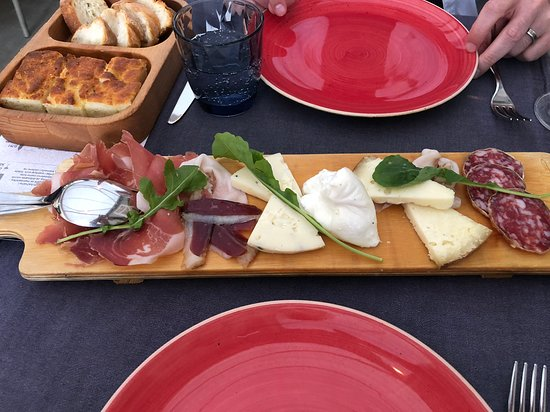 Boban: local cured meats and cheeses