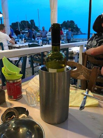 Sodia: A bottle of local wine