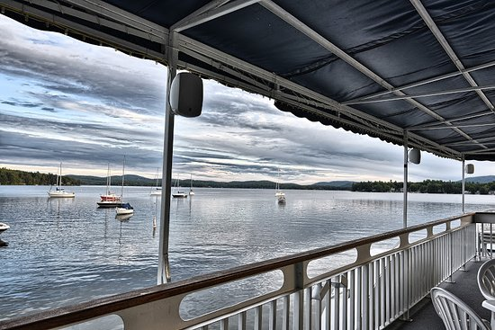 Wolfeboro, NH: Upper deck