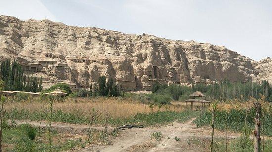Baicheng County, China: 克孜爾千佛洞