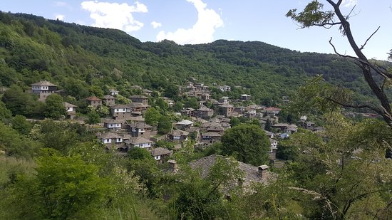Kovachevitsa, Bulgarien: View of the Village
