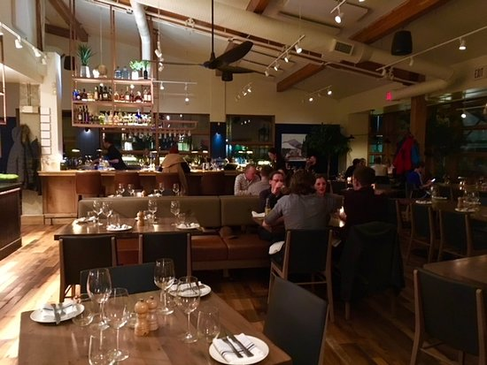 The Bison Restaurant Inside Dining Room