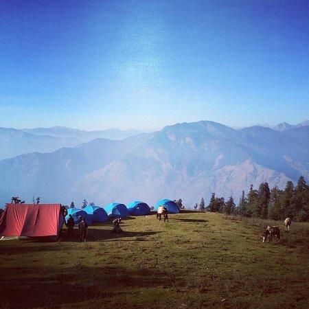 Uttarkashi, India: Kedarkantha Basecamp