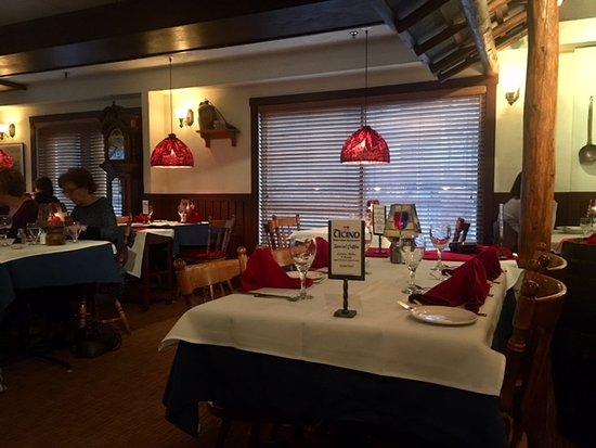 Ticino Swiss Italian Restaurant Dining Room