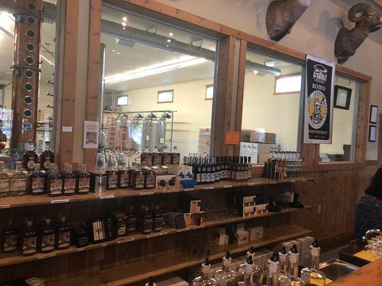 Stein Distillery: window