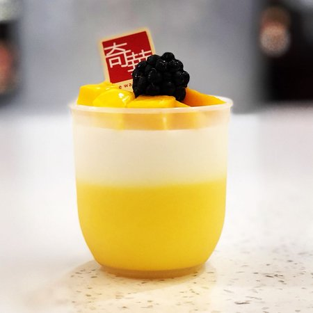 Rowland Heights, CA: Fresh Mango Coconut Pudding Cup