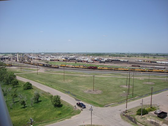 Golden Spike Tower and Visitor Center: Bailey Yard