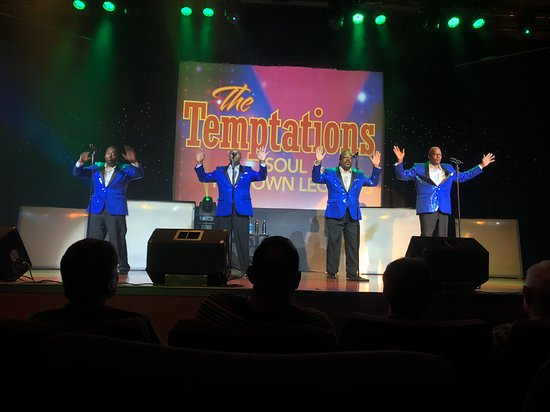The Temptations Motown Legends Tribute