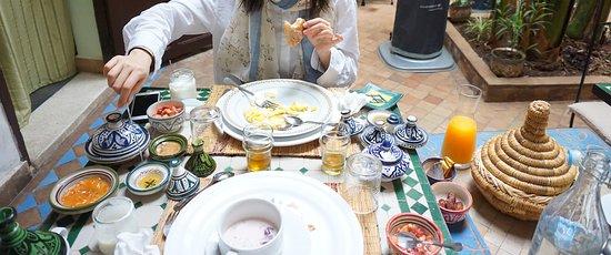 Riad Abaca Badra: Included Breakfast