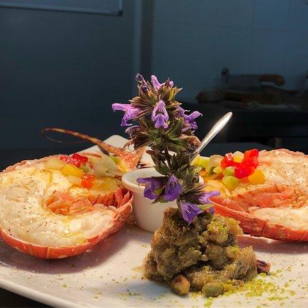 Calenzana, Prancis: Langouste cour bouillon