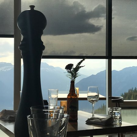 Excellent food with unbeatable view