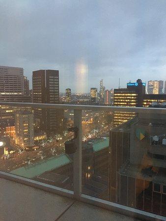 Urban Residences Rotterdam: balcony view