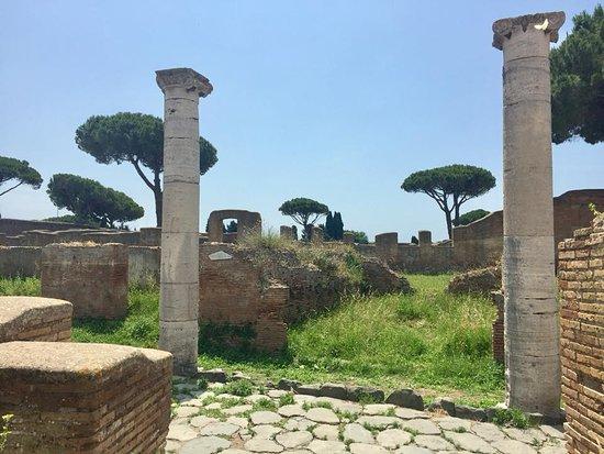 Остия-Антика, Италия: Ostia Antica archeological park 1
