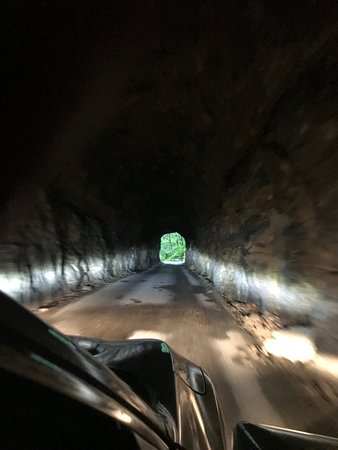 Stanton, KY: Inside of Tunnel