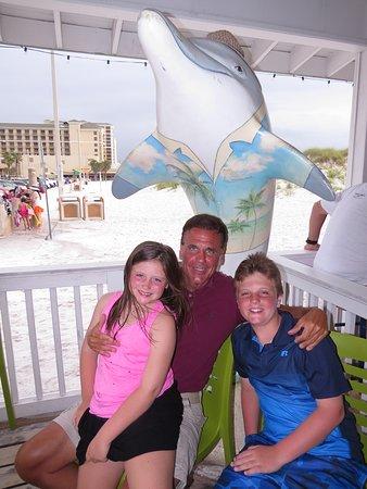 Palm Pavilion Beachside Grill & Bar : Clearwater Beach Florida- Palm Pavilion