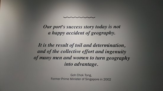 very interesting quote Picture of Singapore Maritime