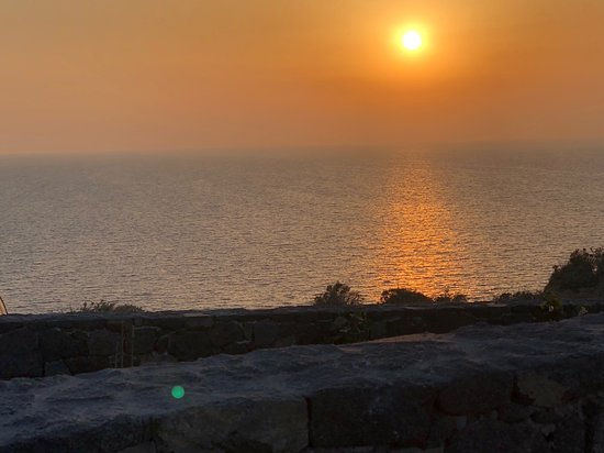 Canaves Oia Epitome: Sunset view from two bedroom villa