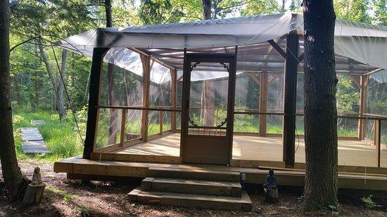 Severn Bridge, Canadá: Outdoor Studio