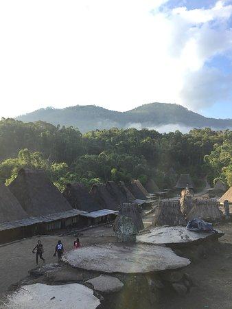 Bena Traditional Village: Pemandangan di kampung bena