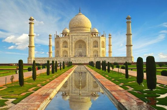 Ganztägige private Taj Mahal und Agra...