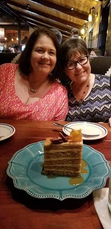 The Ranch at Las Colinas: carrot cake and friends!