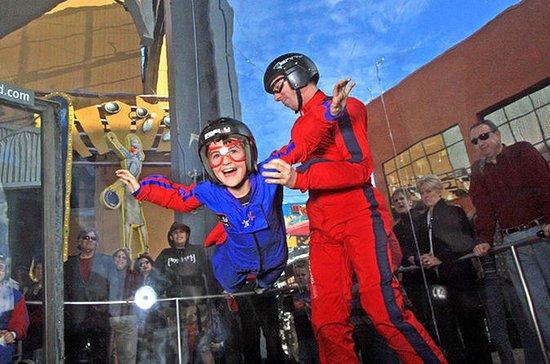 Experiência de simulador de paraquedismo em Los Angeles