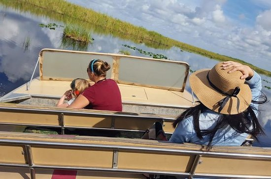 1-Hour Airboat Ride and Nature Walk...