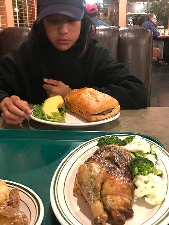 Soquel, Kalifornien: Yummy BbQ Chicken