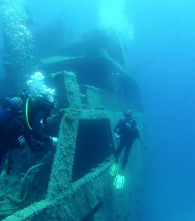 Blue Fin Divers Naxos Greece-bild