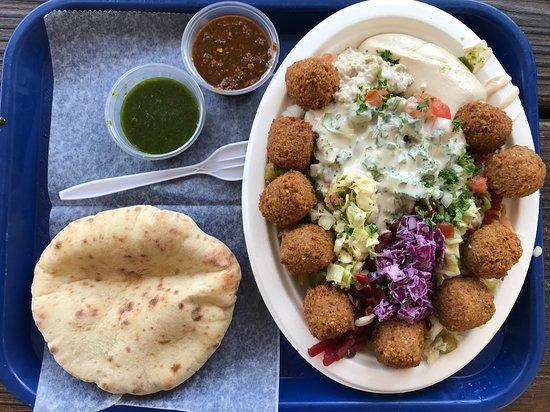 Falafel STOP: Falafel salad