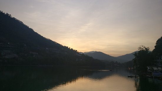 Photo taken from Victoria Dam, Bhimtal