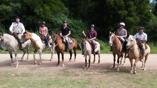 Colonia Horseriding: auf dem Rückweg
