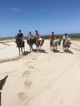 Colonia Horseriding: Galoppieren am Strand