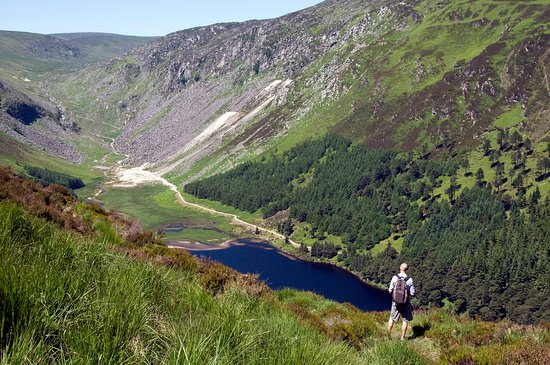 Ireland's Ancient East, Ireland: Lough Tay, Co Wicklow