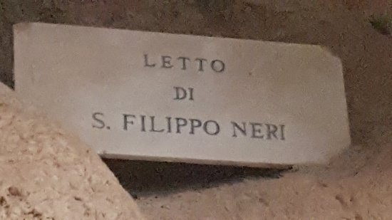 Gaeta, İtalya: Letto di San Filippo Neri