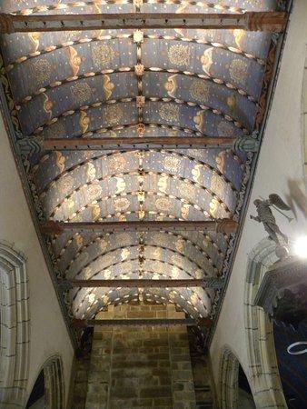 La Roche-Maurice, Francja: et le plafond !!!