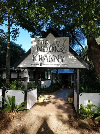 Nook & Kranny: Entrance from the footpath