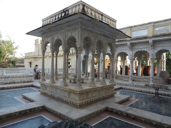 Ghanerao Royal Castle: Terrace.......