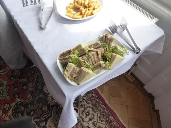 Cantley House Hotel : Sandwiches for 5 people