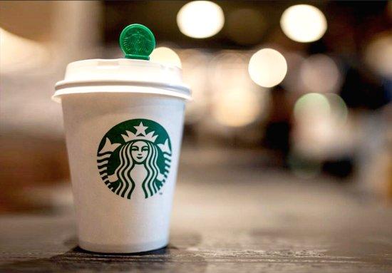 liten kaffe på starbucks